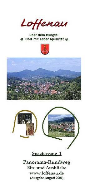 Panoramarundweg Loffenau, mit Ein- und Ausblicken