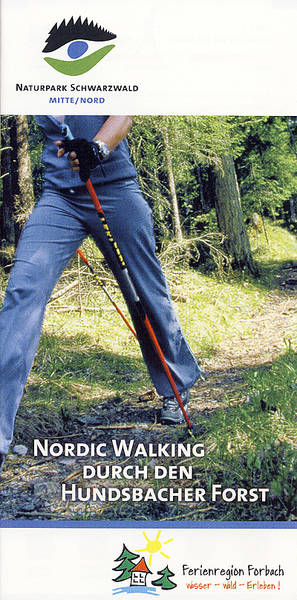 Nordic Walking in Forbach Durch den Hundsbacher Forst