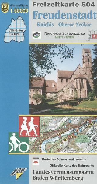Freizeitkarte F 504 Freudenstadt