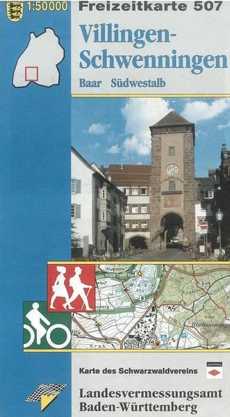 Freizeitkarte F 507 Villingen-Schwenningen