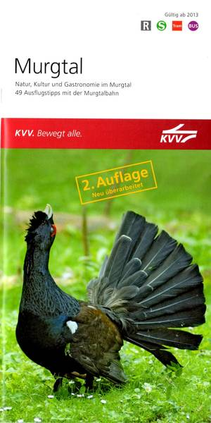 2. Auflage Murgtal - 49 Ausflugstipps m.d. Murgtalbahn