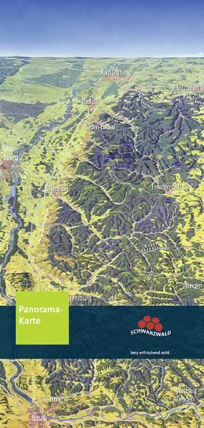 Panoramakarte mit Ausflugstipps