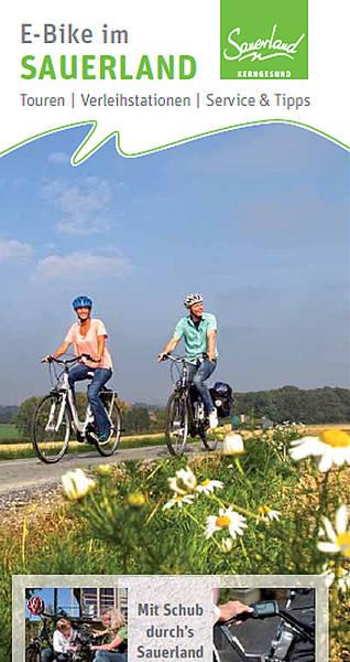 E-Bike im Sauerland (Flyer mit Übersichtskarte)