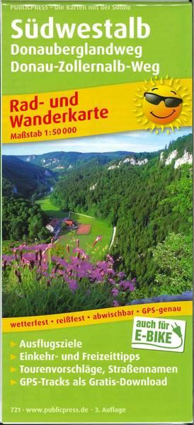 Rad- und Wanderkarte Südwestalb (PUBLICPRESS)