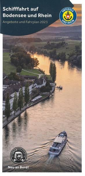 Schifffahrtsplan Untersee und Rhein