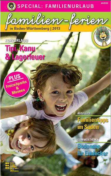 NIDO Special: Familienurlaub in Baden-Württemberg