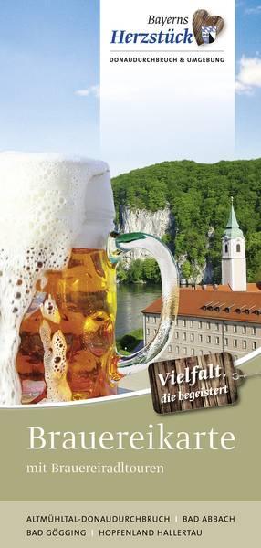 Brauereikarte mit Brauerei-Radl-Touren