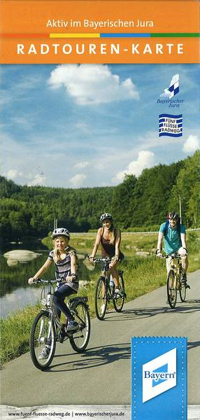 Radtourenkarte Bayerischer Jura