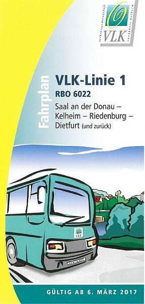 Busfahrplan von Saal (Donau) bis Riedenburg