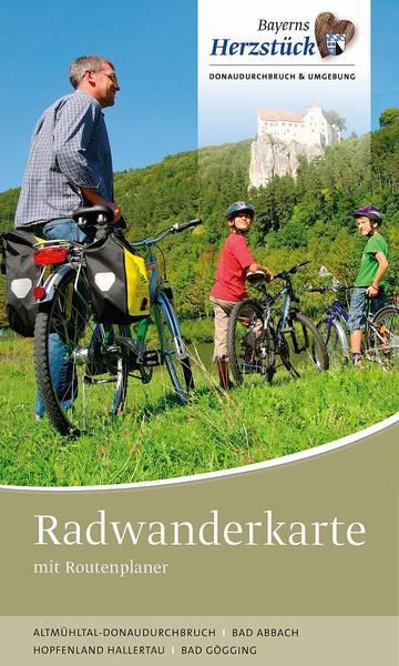 Radwanderkarte Landkreis Kelheim