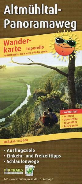 Wanderkarte Altmühltal-Panoramaweg