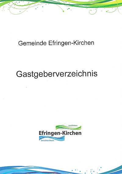 Gastgeberverzeichnis Efringen-Kirchen