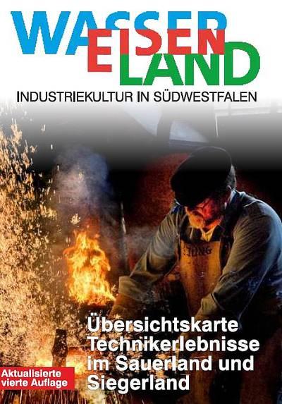 WasserEisenLand – Industriekultur in Südwestfalen - Übersichtskarte