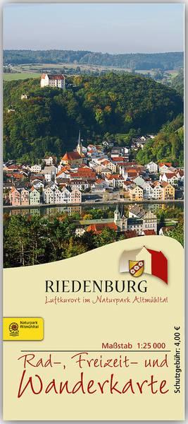 Rad- Freizeit- und Wanderkarte Riedenburg