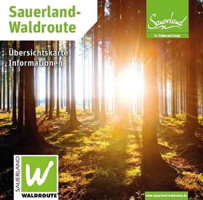 Sauerland-Waldroute Übersichtskarte