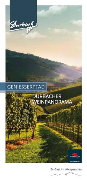 Schwarzwälder Genießerpfad Durbacher Weinpanorama
