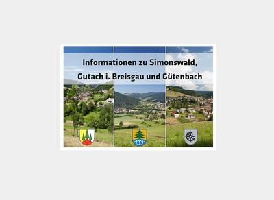 Infopaket Simonswald, Gutach im Breisgau und Gütenbach