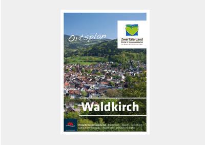 Stadtplan Waldkirch