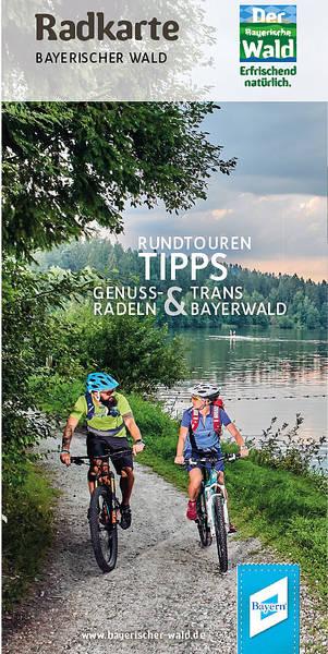 Radeln mit einem Lächeln - Bayerischer Wald Radtourenkarte