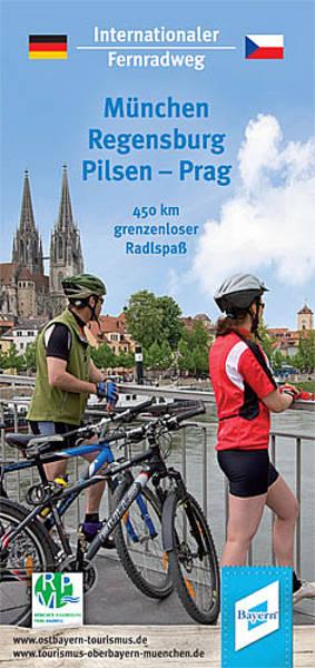 München - Regensburg - Pilsen - Prag      Fernradweg