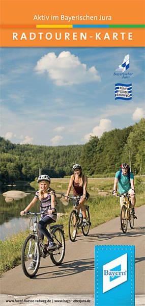 Radtourenkarte - Aktiv im Bayerischen Jura