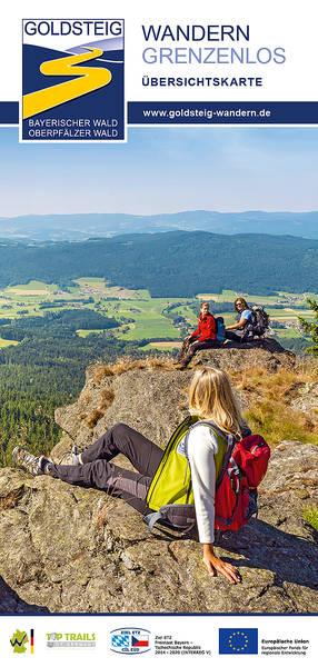 Goldsteig Wandern Übersichtskarte
