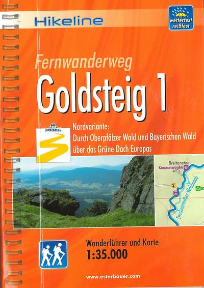 Fernwanderweg Goldsteig - Teil 1(Hikeline) 13,90€