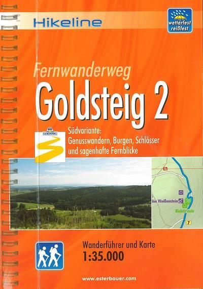Fernwanderweg Goldsteig - Teil 2(Hikeline) 13,90€
