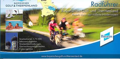 Bayerisches Golf- und Thermenland Radführer 12,90€