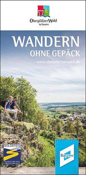 Wandern ohne Gepäck im Oberpfälzer Wald  - Broschüre