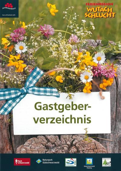 Ferienregion Wutachschlucht Gastgeberverzeichnis
