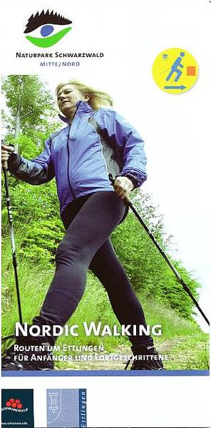 Nordic Walking Routen um Ettlingen