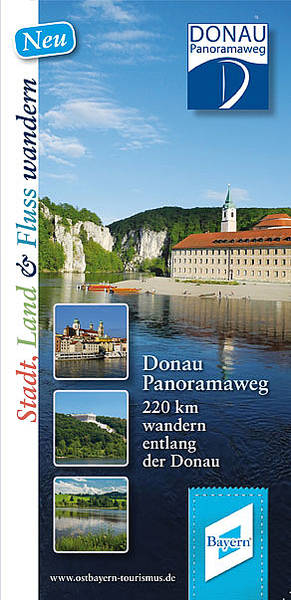 Donau-Panoramaweg Karte