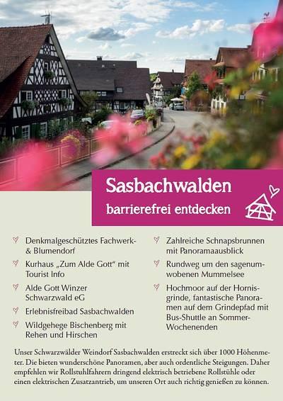 Sasbachwalden barrierefrei erleben!