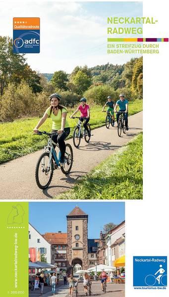 Radkarte Neckartal-Radweg