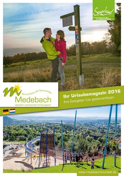 Gastgeberverzeichnis Medebach 2016