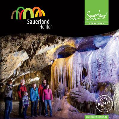 Sauerland Höhlen Booklet