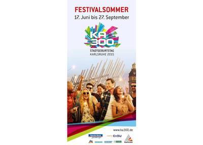 Festivalsommer Karlsruhe – 17. Juni bis 27. September 2015
