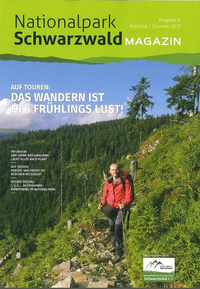Nationalpark Schwarzwald Magazin Frühling / Sommer 2017