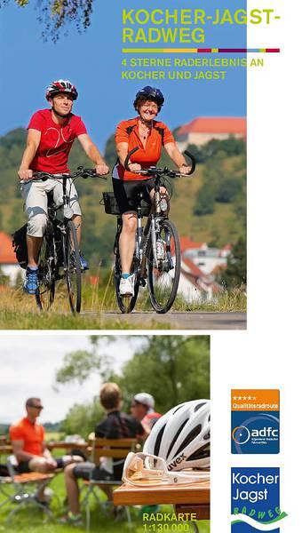Radkarte Kocher-Jagst-Radweg