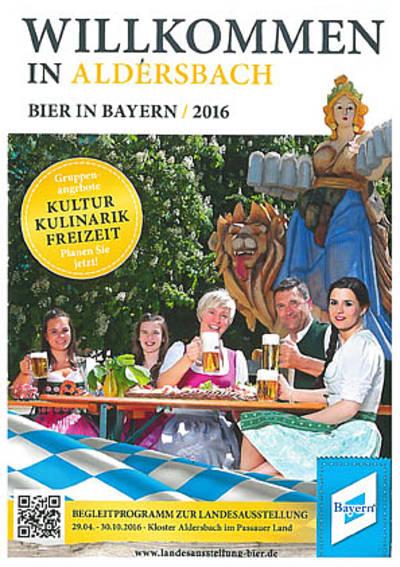 Programm Landesausstellung - Bier in Bayern 2016