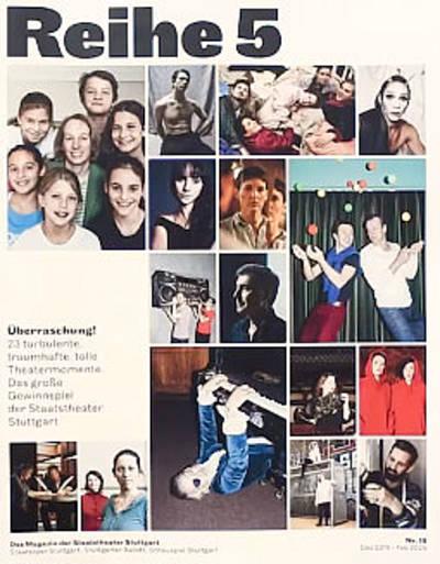 Reihe 5 - Das Magazin der Staatstheater Stuttgart (Juni - August 2016)