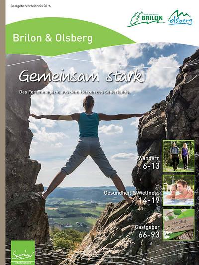 Ferienmagazin Brilon & Olsberg 2016