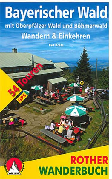 Bayerischer Wald Rother Wanderbuch 16,90