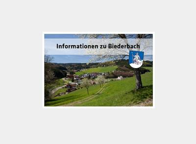 Infopaket Biederbach