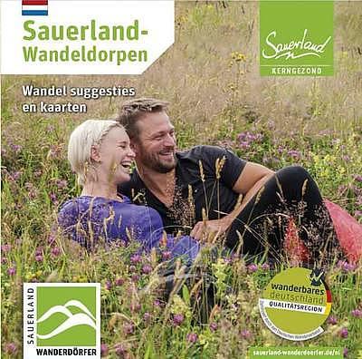 Sauerland-Wandeldorpen Overzichtskaart