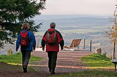 Rothaarsteig-Spur: Dill-Bergtour