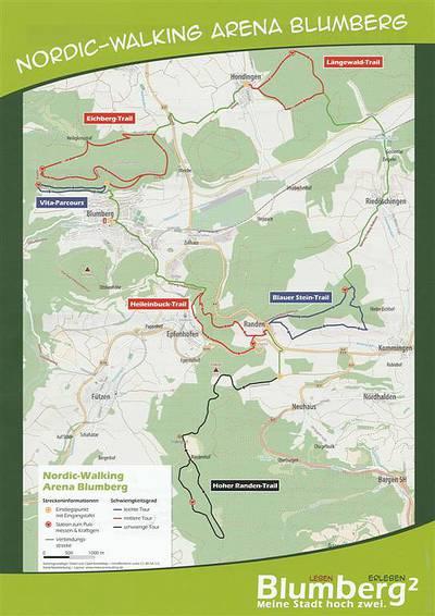 Nordic-Walking Arena Blumberg