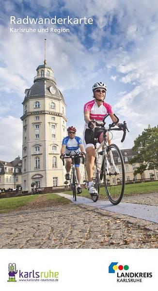 Radwanderkarte Karlsruhe und Region