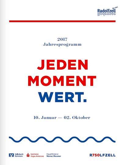 Stadtjubiläum 2017 Programm
